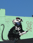 "Flickr.com Many photos on this blog were taken by Mimi_K on her worldwide travels. Click on this link to go straight to her photostream at flickr.com. The photo above is titled ""Banksy's bp rat on a roof"" and seems quite appropriate to grace this blog."